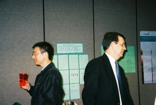 From Left: Dawei Deng and Jaime Uribarri